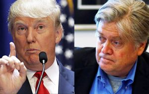 Trump was increasingly frustrated with Bannon in recent weeks and dissatisfaction was compounded when he seemed to undercut the president on North Korea.
