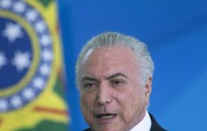 President Michel Temer has rushed to sell state assets and shrink the size of Brazil's government before leaving office in December 2018.