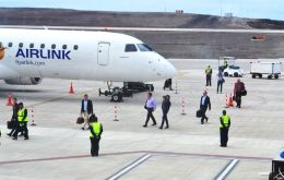 The proving flight was for Airlink to demonstrate to the South African Civil Aviation Authority operational proficiency in terms of ETOPS requirements.