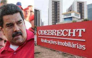 Ortega said she had evidence implicating Maduro and other top officials in corruption involving Brazilian constructor Odebrecht and other companies.