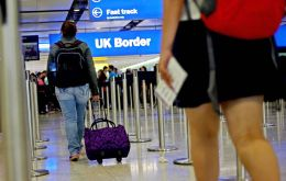The rise comes as ONS figures showed a fall in net migration, partly due to a rise in EU nationals leaving the UK.