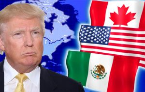 During the presidential campaign, Trump repeatedly assailed 1994 NAFTA, greatly easing trade barriers between the United States, Mexico and Canada