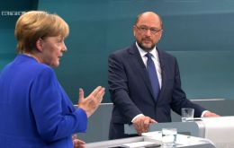 With millions of voters still undecided, Schulz had been looking to the debate to erode the commanding 17-point lead of Merkel's CDU party and CSU allies