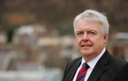 "Carwyn Jones tweeted it was a ""useful first meeting"" with Mr. Green, but added there was ""some way to go"" before his government could support the repeal bill."