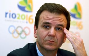 Ex Rio Mayor Eduardo Paes is being investigated for allegedly accepting at least US$5 million in payments to facilitate construction projects tied to the games.