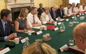 PM Theresa May chaired a meeting of the government's emergency response Cobra committee.