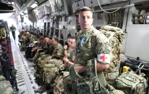 "UK troops deployed on RFA ship Mounts Bay in Anguilla and have ""made the airfield serviceable, restored power to the hospital and rebuilt emergency shelters""."