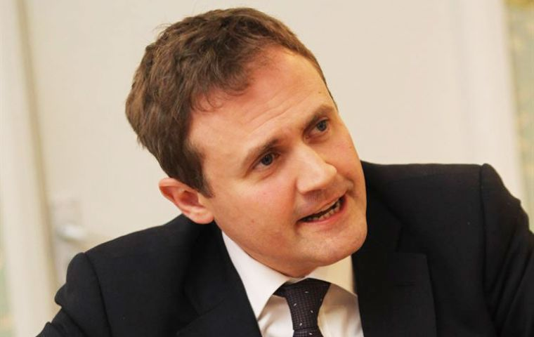 "MP Tugendhat,(Pic) chair of foreign affairs committee and MP Twigg, of international development committee said UK's response ""still requires improvement""."