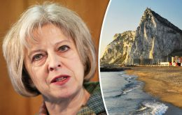 "In a recorded message PM May underscored UK's double lock commitment on Gibraltar sovereignty and reflected on the ""pivotal"" referendum of 1967."