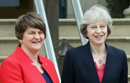 The money was negotiated by the DUP leader Arlene Foster in June as part of its confidence and supply deal with the Conservatives.