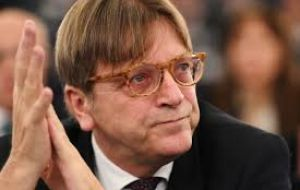 "Speculation about Mrs. May's speech was sparked when EU Parliament negotiator Guy Verhofstadt claimed an ""important intervention"" would be made by the PM"