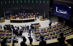 Temer's earlier corruption charge, that he took bribes from JBS officials, was blocked in August by Temer's allies in the lower house of Congress