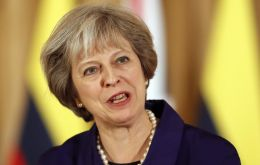 """I never think it's helpful for anybody to speculate on what is an ongoing investigation,"" Theresa May said."