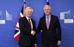 Over 100 companies, with more than one million workers in the UK and EU, have signed a letter to Brexit negotiators David Davis and Michel Barnier