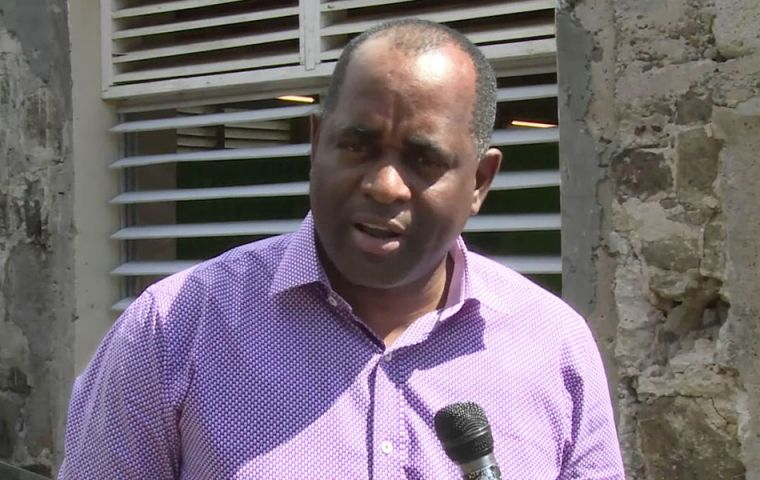 "PM Skerrit had posted live updates as his own roof was torn off, saying he was ""at the complete mercy of the hurricane""."
