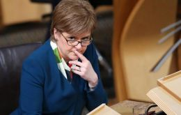 "Nicola Sturgeon has been working with Labour government in Wales on opposition to what both the Edinburgh and Cardiff call a ""naked power grab""."