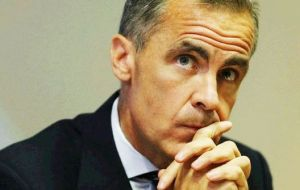 "Brexit represented a ""real shock"" about which monetary policy ""can do little"", Carney warned and warned of ""considerable risks"" to the UK economy."