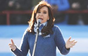 Cristina Fernandez is running for a Senate seat in Argentina's most populous province. Buenos Aires province is home to about 40% of Argentine voters