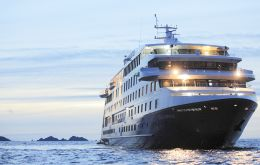 "The 100 cabins ""Stella Australis"" normally opens and closes Punta Arenas regional cruise season which this summer is scheduled to complete 41 calls and 11.152 pax"