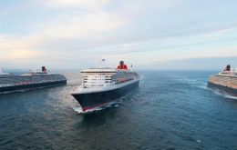 The as-yet-unnamed ship will join Queen Mary 2, Queen Victoria and Queen Elizabeth as the fourth member of the Cunard fleet