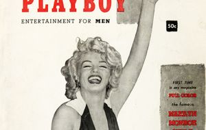 In 1953, a time when states could legally ban contraceptives, Hefner published the first issue of Playboy, featuring naked photos of Marilyn Monroe
