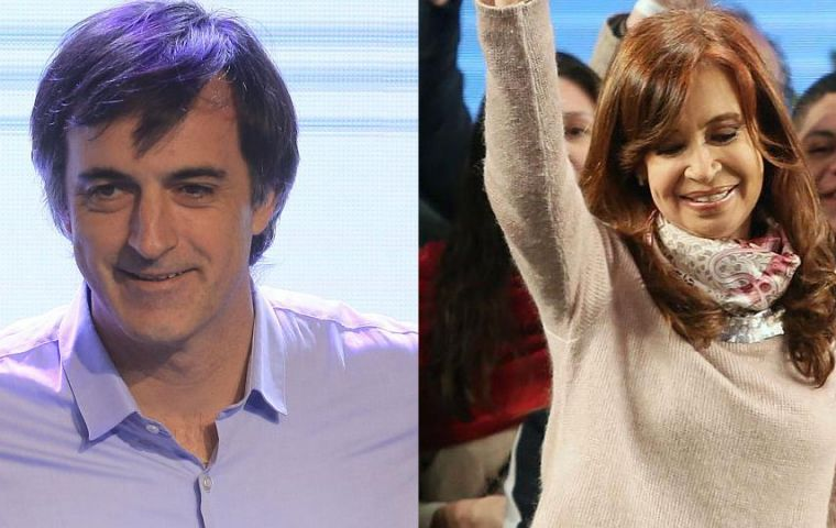 The poll shows 39% of men will vote for Cristina and 38% for Bullrich. When it comes to women, Let's Change is preferred by 41%, and Citizens United, 36%.