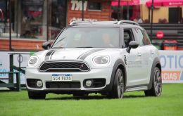 MINI presented their new MINI Countryman and offered a Test Drive Show. JCB promoted their construction machinery equipment