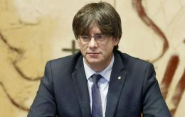 Catalan leader Carles Puigdemont said on Sunday that the Spanish region has won the right to statehood following the contentious violent referendum