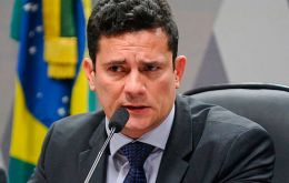 """The investigation was always about Petrobras contracts that caused corruption and the people who paid"" bribes, Moro told reporters at Notre Dame University"