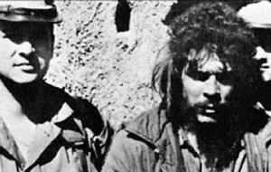 Che Guevara, one of Cuba's most important ideologues, was captured on the 8 October 1967 and shot dead the next day by Bolivian government troops.