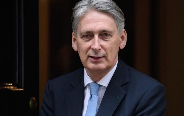 Hammond's comments follow warnings from the British Chambers of Commerce  that public disagreements among ministers were undermining business confidence.