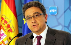 Interior minister delegate Millo's remarks were the first by a Spanish official lamenting the injuries. Spain said police action was firm and proportionate.