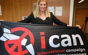 Beatrice Fihn, executive director of the ICAN describe it as a strong message to all states that continue to rely on nuclear weapons for security: an unacceptable behavior