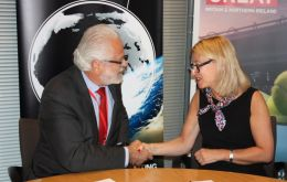 The Memorandum was signed by Catherine Raines, Director General of the Department for International Trade, and Apex-Brazil president Roberto Jaguaribe