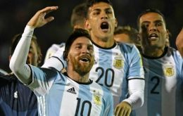 Argentine superstar Lionel Messi celebrated on Tuesday evening in Quito and can now look forward to his fourth appearance at the World Cup finals next year in Russia