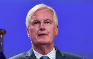 Barnier said trade talks were likely to be delayed by months, increasing the chance of no deal being done.