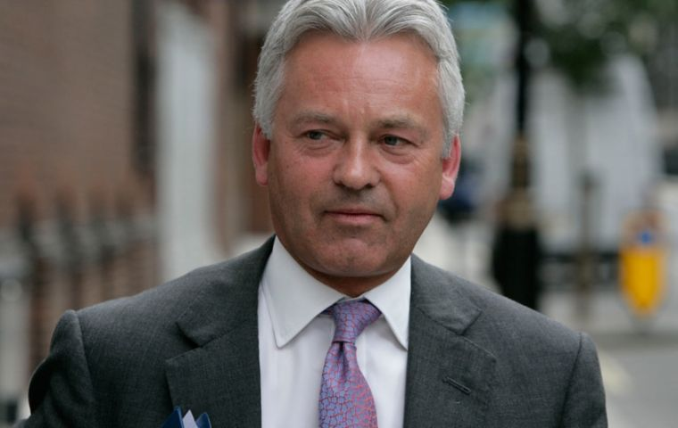 "Sir Alan Duncan: ""I write to put on record my admiration for the way in which democracy  works in the Falkland Islands"""