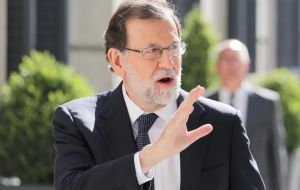 Spanish Prime Minister Mariano Rajoy has vowed that his government will not allow Catalonia to break away from the rest of the country.