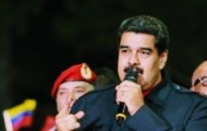 "The official turnout was 61.14%. Maduro said his government had scored an ""emphatic victory"" over its rivals. ""The opposition has five,"" Maduro underscored"