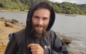 The remains were found near the site where indigenous rights activist Santiago Maldonado was last seen at a tribal rights protest on August first