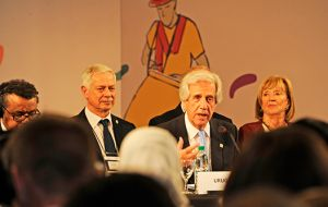 Uruguay president Dr. Tabaré Vázquez, said the Montevideo Roadmap represented a bold commitment by governments to intensify action to protect people from NCD