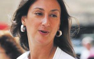 """We are horrified by the fact that the well-known and respected journalist Daphne Caruana Galizia lost her life yesterday in what was seemingly a targeted attack"""