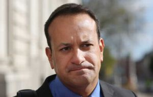 "Irish Taoiseach Leo Varadkar also supported PM May arguing ""Brexit does not happen until April 2019. We are quite far back from the cliff edge at this stage""."
