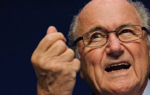 Blatter, former boss of the world´s most popular sport