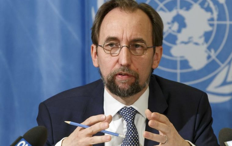 Zeid Ra'ad Al Hussein visit to Uruguay includes meetings with President Vázquez, cabinet ministers, the presidents of Congress and the judiciary