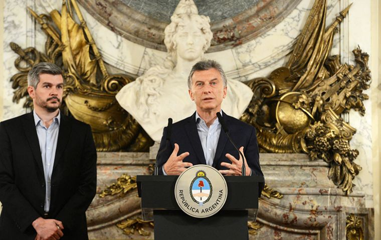 The conservative leader has been pushing a free-market reform agenda to overhaul Argentina's struggling economy.