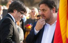 "CUP with influence on the government of Carles Puigdemont has published a statement anticipating ""aggression will be met with large-scale civil disobedience."""