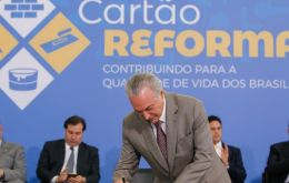 The pension reform is crucial to Temer's attempts to plug Brazil's budget deficit and reduce the bloated pension system.