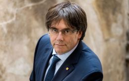 Puigdemont's speech on Saturday was seen as a veiled threat of formalizing an ambiguous declaration of independence earlier this month