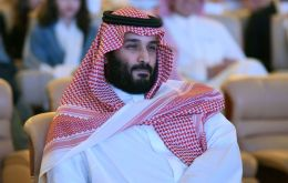 """NEOM is situated on one of the world's most prominent economic arteries, through which nearly a tenth of the world's trade flows,"" Prince Mohammad said"